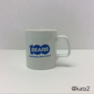 """Sears Vintage """"Celebrating a New Century"""" Cup"""